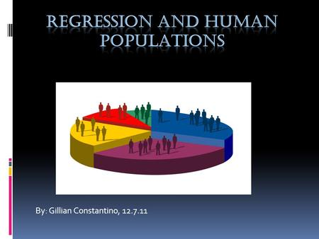 By: Gillian Constantino, 12.7.11 What is world population?  The world population is the total number of human beings living on earth.  The U.S. Census.