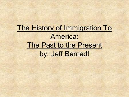 """history and overview of illegal immigration A brief look at the history of the mexican-us labor relationship reveals a pattern  of  """"the problem of mexican illegal immigration is born at the moment that the."""