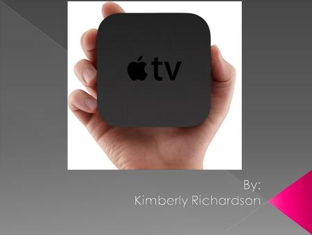  Apple TV was originally released in a 40GB model on March 21, 2007  A 160GB model was released on May 31, 2007  The 40 GB model was discontinues on.