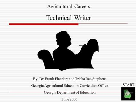 Technical Writer Agricultural Careers