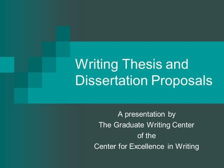 graduate writing center writing thesis and The graduate writing center opens for the fall 2018 semester on  graduate  writing retreats, special-topic workshops, and thesis and.