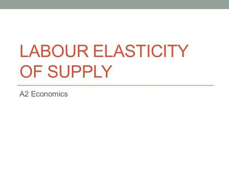 What Factors Affect the Labor Supply and Demand for the Automobile Industry?