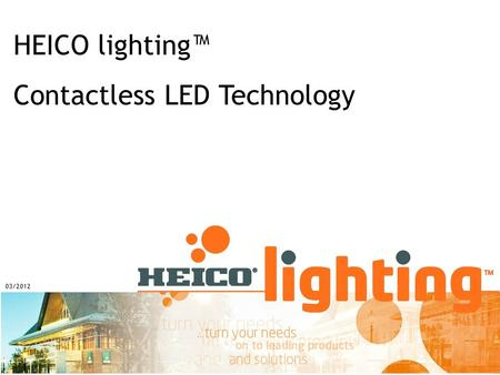 Contactless LED Technology