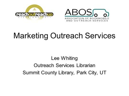Marketing Outreach Services