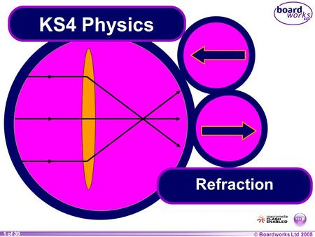 © Boardworks Ltd 2004 1 of 20 © Boardworks Ltd 2005 1 of 39 KS4 Physics Refraction.