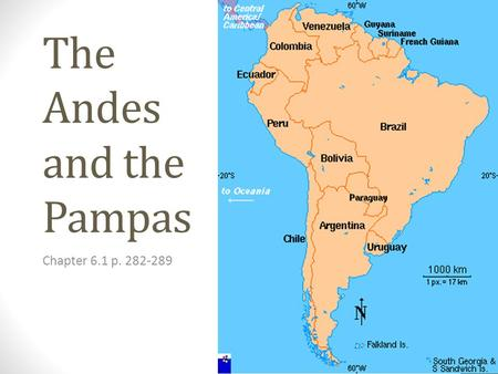The Andes and the Pampas