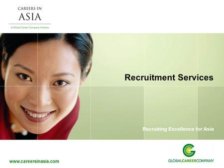 Recruitment Services.