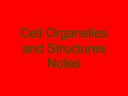 Cell Organelles and Structures Notes. What is a Cell? SPI 0707.1.1 Identify and describe the function of the major plant and animal cell organelles. Cells.
