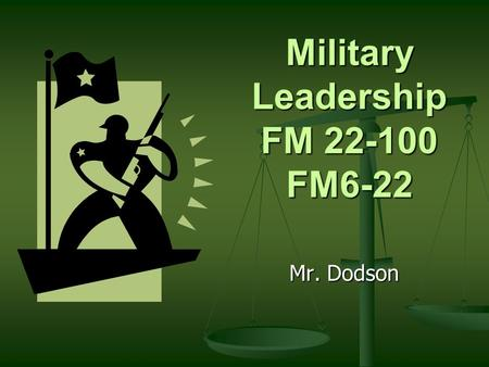 Military Leadership FM FM6-22