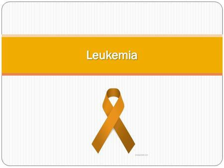What is Leukemia? Leukemia is cancer of the blood. Often times, symptoms of Leukemia go unnoticed or do not appear at all in the early stages. Because.