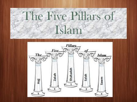 The Five Pillars of Islam. Last Class....  Who founded Islam again?  What sort of things influenced this new religion?  How did it change the culture.