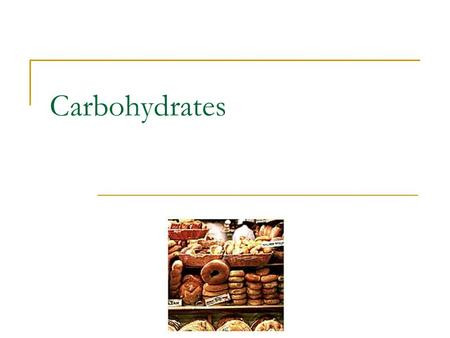 Carbohydrates. What are carbohydrates? 1 of the 6 essential nutrients and your body's main source of energy Sugars, starches and fibers in your diet.