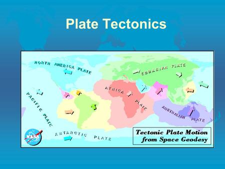 Plate Tectonics. Continental Drift l Evidence for Continental Drift A. Theory of continental drift is the idea that the continents have moved horizontally.