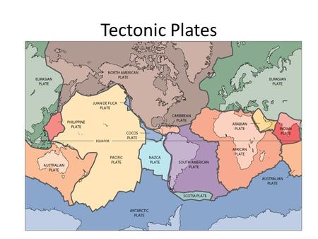Tectonic Plates. Directions: Use this PowerPoint to guide you through making your illustrations and information for your notes page. When you finish your.