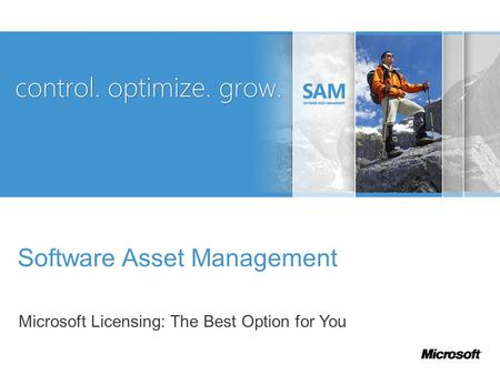 Software Asset Management Microsoft Licensing: The Best Option for You.