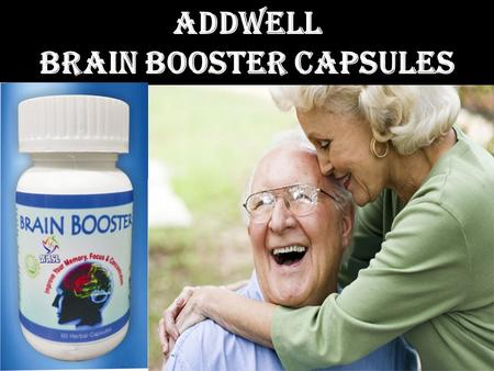 Addwell Brain Booster Capsules. Why Decline in Memory? Memory loss is a problem that affects most people to a degree Today's unhealthy and busy lifestyle.