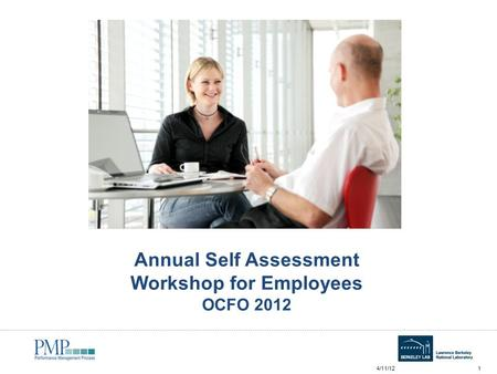Annual Self Assessment Workshop for Employees