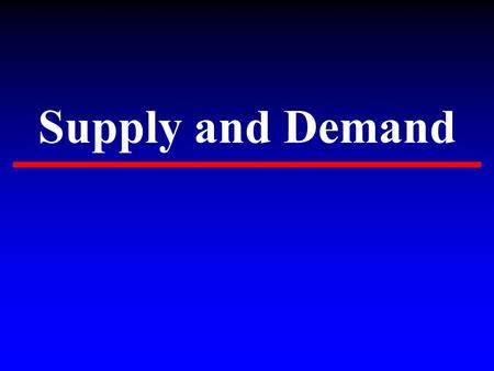 Supply and Demand. What is supply? Supply and Demand ▸ Supply- quantity of a product or service that sellers are willing and able to provide the market.