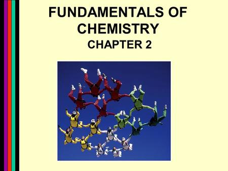 FUNDAMENTALS OF CHEMISTRY CHAPTER 2. 2 Chem review Chemical bonding (its all about the electrons) water and polarity (like dissolves like) pH - acids.