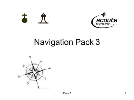 Pack 31 Navigation Pack 3. Pack 32 Lessons in Pack 3 Contours Bearings Estimating Timings OS map symbols.