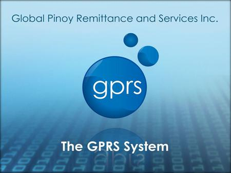 GPRS is a full-valued service for the Global and Local Filipinos that promotes reliability and efficiency. It is the fastest growing remittance company.