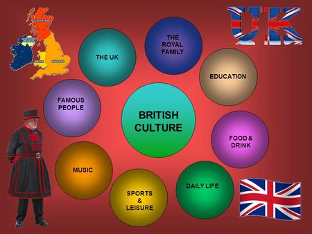 BRITISH CULTURE EDUCATION FOOD & DRINK DAILY LIFE <strong>SPORTS</strong> & LEISURE MUSIC FAMOUS PEOPLE THE ROYAL FAMILY THE UK.