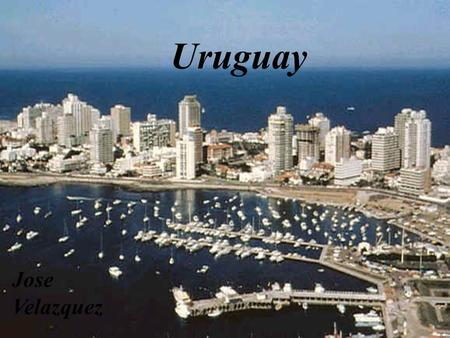 Uruguay Jose Velazquez. KEY DATA CAPITAL: The capital of Uruguay is Montevideo. POPULATION: The population in Uruguay is 1,325,968. LANGUAGE: The language.