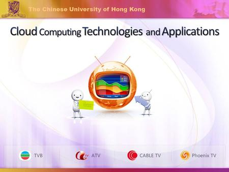 The Chinese University of Hong Kong. Research on Private cloud : Eucalyptus Research on Hadoop MapReduce & HDFS.