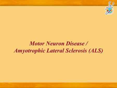 Diagnosis Of Motor Neuron Disease Pille Taba Karin