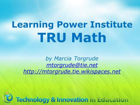 Learning Power Institute