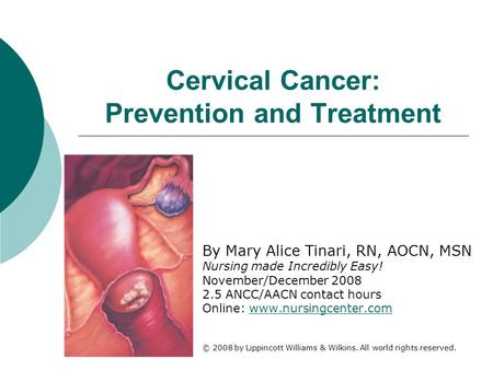 Cervical Cancer: Prevention and Treatment