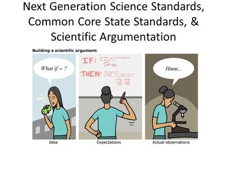 Development of New Science Standards: