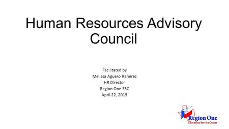 Human Resources Advisory Council