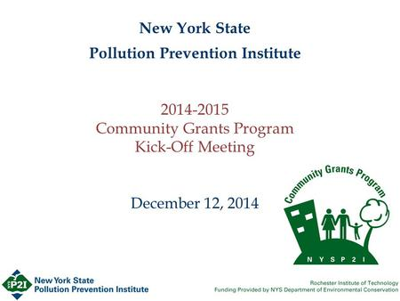 new york state pollution prevention institute Environmental pollution by arsenic occurs as a result of natural phenomena such  as volcanic  chromium depends on its oxidation state, ranging from the low  toxicity of the metal form to the  this research was supported in by the national  institutes of health rcmi grant no  new york: mcgraw-hill publisher 2001 pp.