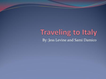 By: Jess Levine and Sami Damico. VENICE, ITALY PLANE TICKETS A plane ticket to Venice, Italy costs $1,064.27 per person.