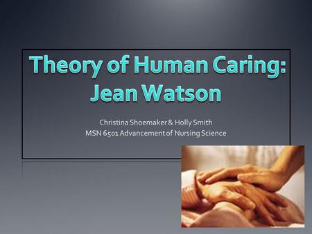 "Watson defined nursing ""as a human science of persons and human health—illness experiences that are mediated by professional, personal, scientific, esthetic,"
