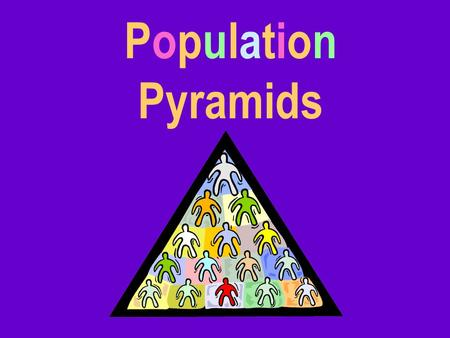 Population Pyramids. Population pyramids are graphs that can tell us a wealth of information about a place's people.