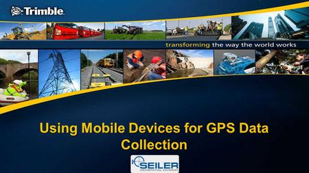 Using Mobile Devices for GPS Data Collection. Seiler is…