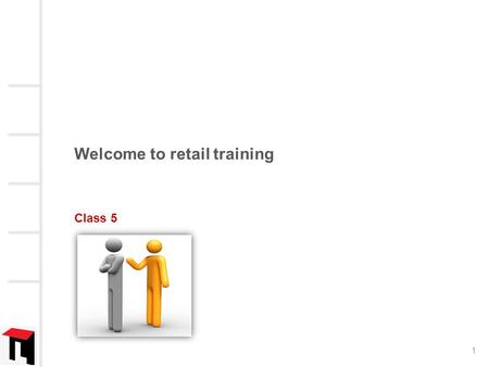 Welcome to retail training