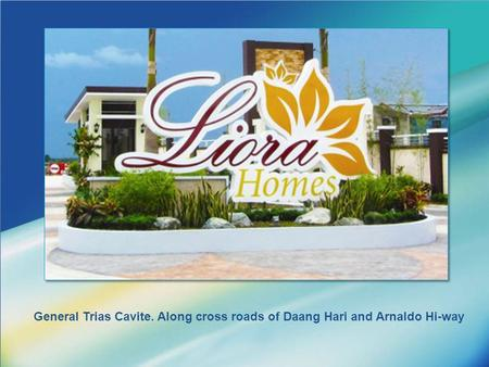 LOGO General Trias Cavite. Along cross roads of Daang Hari and Arnaldo Hi-way.