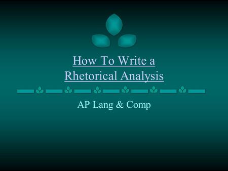 write an essay in which you analyze the rhetorical strategies president lincoln Rhetorical analysis: jfk no description by ashly medina on 14 december 2016 tweet comments (0  58-61, 88-90, etc) he is also credible because he is the president of the us and that's the people the country chose to trust as their leader pathos: kennedy sounds concerned and upset when he talks about the problem's the steel prices would.