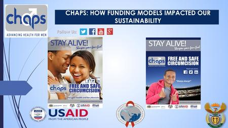 CHAPS: HOW FUNDING MODELS IMPACTED OUR SUSTAINABILITY Follow Us: