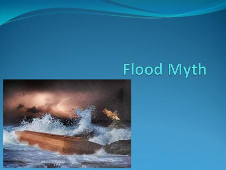 Flood Myth.
