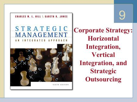 9 Corporate Strategy: Horizontal Integration, Vertical Integration, and Strategic Outsourcing.
