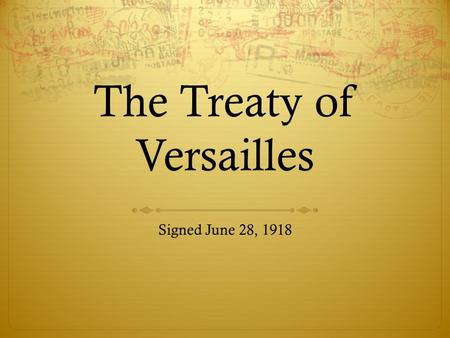 treaty of versailles was fair essays Below is a list of the fair-copy essays i have written for my pupils  how did the 'big three' feel about the treaty of versailles.