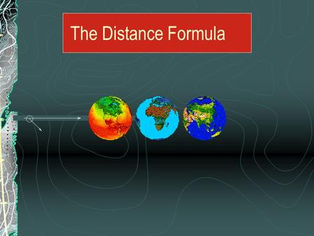 The Distance Formula Finding The Distance Between Points On maps and other grids, you often need to find the distance between two points not on the same.