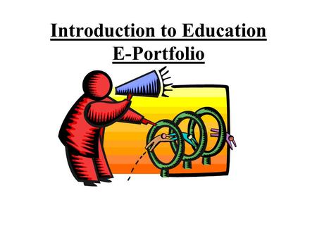 Introduction to Education E-Portfolio. Word Document Example Link to Colleen McCabeColleen McCabe Word Document Instructions –Open a new word document.