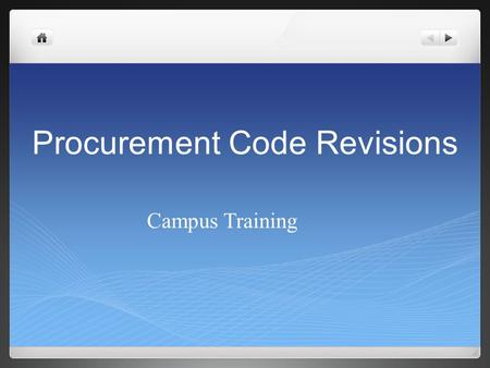 "Procurement Code Revisions Campus Training. Audit of Utah's Department of Alcoholic Beverage Control Operational Audit – processes Violated ""Open Meeting"""