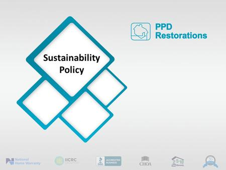 Sustainability Policy. Introduction 2 We understand that the decisions we make as a company have an impact on the ecological, social, cultural, and economic.