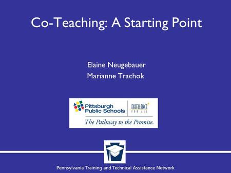 Co-Teaching: A Starting Point